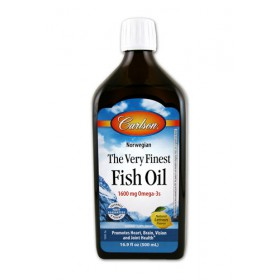 Carlson Labs Very Finest Liquid Fish Oil Lemon, 500ml