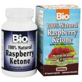 BioNutrition Raspberry Ketone Diet, 60 Vcaps