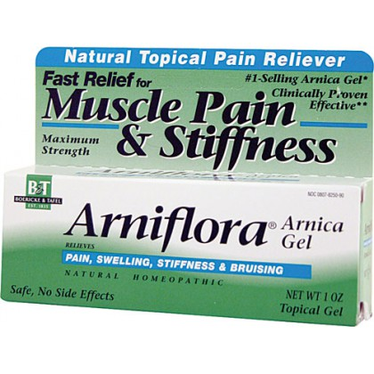 Arniflora Arnica Natural Topical Pain Reliever Gel, 1 oz