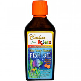 Carlson For Kids Very Finest Fish Oil Orange, 200ml