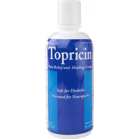 Topricin Pain Relief Cream, 8oz