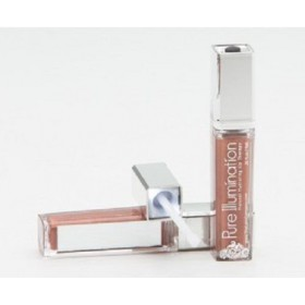 The Lano Company Lip Gloss Light Up Push Button, Sun Kissed, 0.3oz