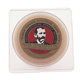 Col. Conk Bay Rum Shaving Soap 3-Pack