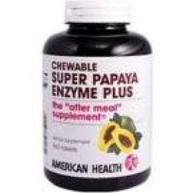 American Health Multi-Enzyme Plus Super Papaya 360