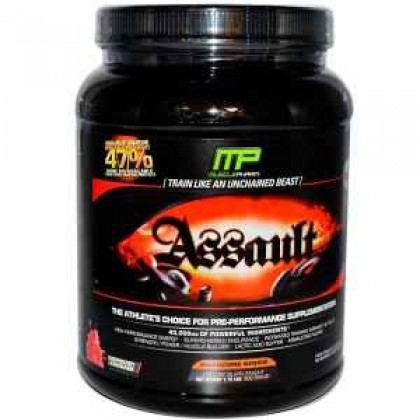 Assault Raspberry Lemonade by Muscle Pharm - 1.76 lbs