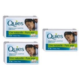Boules Quies Ear Plugs, 3 pack