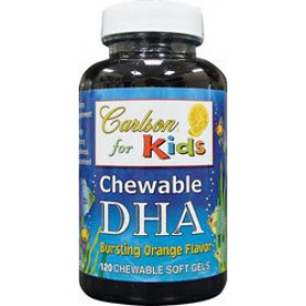 Carlson For Kids DHA Orange, 120 Softgels