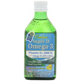 Carlson Labs Super D Omega-3 Vitamin D, 8.4 oz