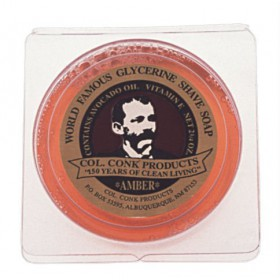 Amber Glycerine Bar Shave Soap 2.25 Oz.