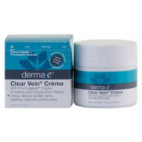 Derma-E Clear Vein Creme Horse Chestnut & Grape Skin Extract, 2 oz