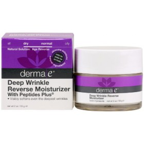 Derma-e Peptides Plus Double-Action Wrinkle Reverse Crème, 2oz