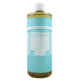 Dr. Bronner's Unscented Baby-mild Pure Castile Soap 32oz