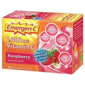 Emergen-C Raspberry, 30-count