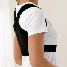 Shouldersback Posture Support Lite Large Black 02025