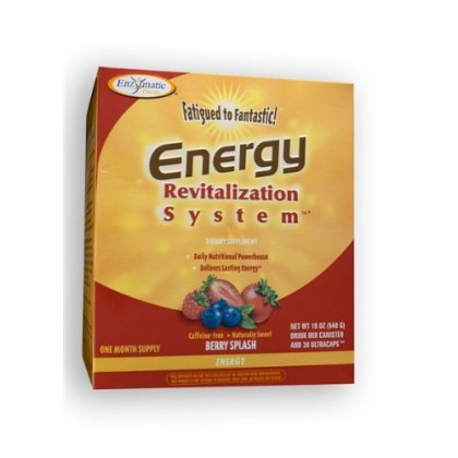Fatigued to Fantastic Energy Revitalization System - Berry Splash Flavor (30 Day Supply) 21.6 0z