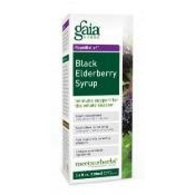 Gaia Herbs Black Elderberry Syrup 5.4 oz