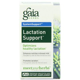 Gaia Herbs Lactation Support, 60 Liquid Phyto-Capsules