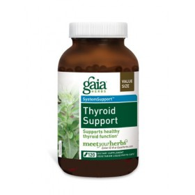 Gaia Herbs Thyroid Support, 120 Liquid Phyto-Capsules