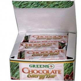 Greens+ Energy Bar Chocolate 12 Bars/Box
