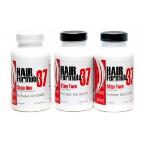 Hair Formula 37 Faster Hair Growth Booster 3pk