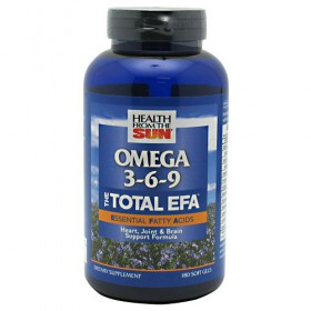Health From The Sun Omega 3-6-9 The Total Efa 180 softgels