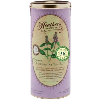 Heather's Tummy Tea Peppermint Tea Bags for Irritable Bowel Syndrome 36bags
