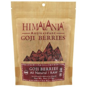 Himalania 4 oz. Dried Raw Goji Berries