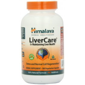 Himalaya Herbal Healthcare LiverCare Liver Support 180 Vcaps