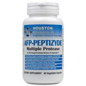 Houston Enzymes AFP-Peptizyde, 90 Veggie Capsules