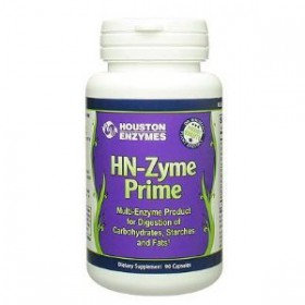 Houston Enzymes HN-Zyme Prime Multiple Enzymes 90 Vegetable Capsules