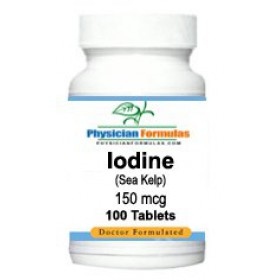 Iodine Supplement from Sea Kelp 150Mcg 100 Tablets
