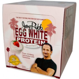 Jay Robb Egg Protein Strawberry 12 Packets