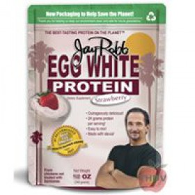 Jay Robb Egg White Strawberry 24oz