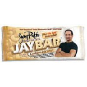 Jay Robb Jaybar Cashew Coconut Bar 12 bars