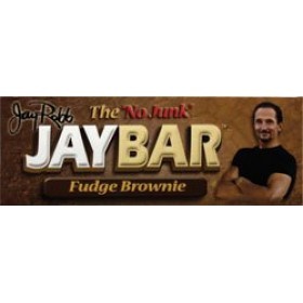 Jay Robb JayBar Fudge Brownie 12 Bars