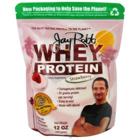 Jay Robb Whey Protein Strawberry 12 oz