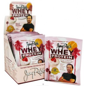 Jay Robb Whey Protein Strawberry 12 Packets