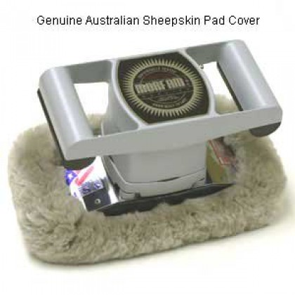 Jeanie Rub Massager Sheepskin Pad Cover