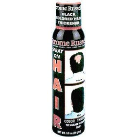 Jerome Russell Hair Color Thickener Spray Jet-black 3.5 Oz
