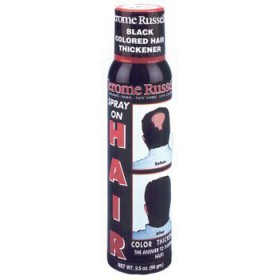 Jerome Russell Hair Color Thickener Spray Dark Brown 3.5 Oz