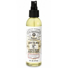 J.R. Watkins Coconut Body Oil Mist 6 oz