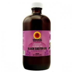 Lavender Jamaican Black Castor Oil 8 Oz