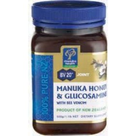 Manuka Health Manuka Honey and Glucosamine with Bee Venom, 500g