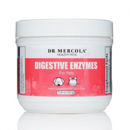 Mercola Digestive Enzymes For Pets 5.26 oz