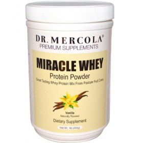 Mercola Miracle Whey Vanilla Protein Powder