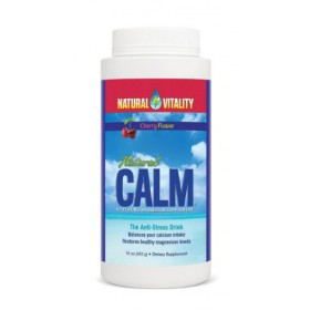 Natural Vitality Natural Calm Magnesium, Powder, Cherry 16 oz