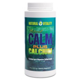 Natural Vitality Natural Calm Plus Calcium Original 16oz