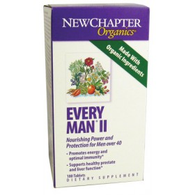 New Chapter Every Man II Multivitamins, 180 Count