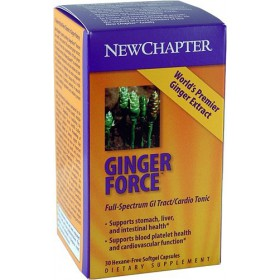 New Chapter - Gingerforce, 60 softgels
