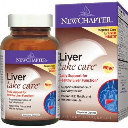 New Chapter Liver Take Care Tablets, 60 Count